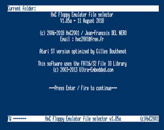 HxC2001 HeadQuarters : HxC Floppy Emulator